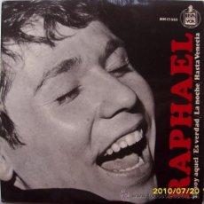 Discos de vinilo: RAPHAEL. Lote 25383916