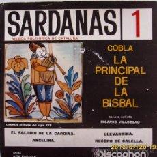 Discos de vinilo: SARDANAS 4 DISCOS CON 4 PZAS. C/ U. Lote 26764275