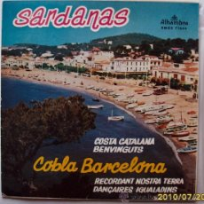Discos de vinilo: SARDANAS. Lote 26121500