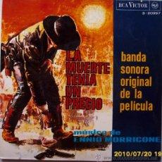 Discos de vinilo: LA MUERTE TENIA UN PRECIO. Lote 25250285