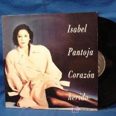 Discos de vinilo: - ISABEL PANTOJA - CORAZÓN HERIDO- BMG ESPAÑA ARIOLA 1992. Lote 20711328