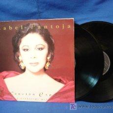 Discos de vinilo: - ISABEL PANTOJA - LA CANCIÓN ESPAÑOLA - 2 DISCOS - BMG ARIOLA 1990. Lote 20711432