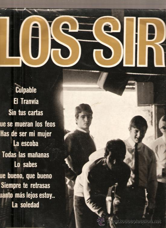 LP LOS SIREX - EDITADO POR DISCOS VERGARA EN 1965 (Música - Discos - LP Vinilo - Grupos Españoles 50 y 60)