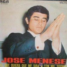 Discos de vinilo: JOSÉ MENESE - 1970. Lote 24506312