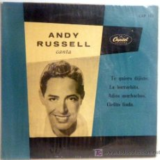 Discos de vinilo: ANDY RUSSELL WITH ORCHESTRA. Lote 27262854
