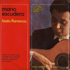 Discos de vinilo: MARIO ESCUDERO - FIESTA FLAMENCA - 1963. Lote 27168653