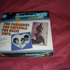 Discos de vinilo: PARAGONS..CRYSTALS..DIXIE CUPS LP LA GRANDE STORIA DEL ROCK VOL 98 PORTADA DOBLE. Lote 20753189