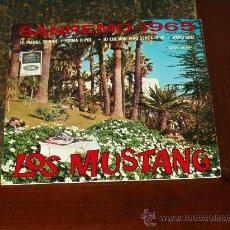 Discos de vinilo: MUSTANG EP YO QUE NO VIVO SIN TI+3. Lote 20777700