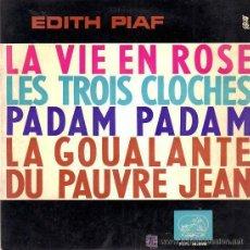 Discos de vinilo: EDITH PIAF - LA VIE EN ROSE - 1963. Lote 25755463
