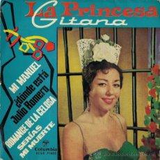 Discos de vinilo: LA PRINCESA GITANA - EP, 1963. Lote 27244304