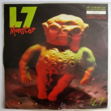 Discos de vinilo: L7 - MONSTER - PICTURE UK 1992 - SLASH LASHX 38. Lote 20807474