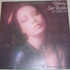 Discos de vinilo: PALOMA SAN BASILIO. EN DIRECTO. Lote 20840267