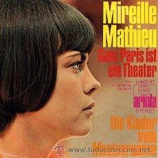 Discos de vinilo: MIREILLE MATHIEU. Lote 26413297