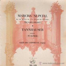 Discos de vinilo: MARCHA NUPCIAL - TANNHAUSER - 1958. Lote 20842920