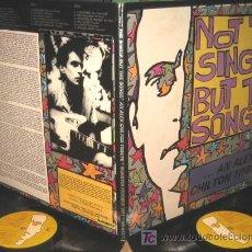 Discos de vinilo: NOT THE SINGER BUT THE SONGS / ALEX CHILTON TRIBUTE - 2 LP - LOS BICHOS / LOS VALENDAS / LA SECTA. Lote 27092839