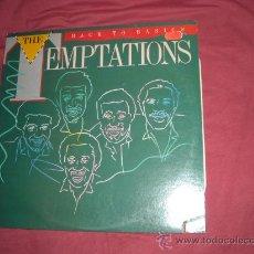 Discos de vinilo: THE TEMPTATIONS LP BLACK TO BASICS 1981 MOTOWN USA. Lote 20866294