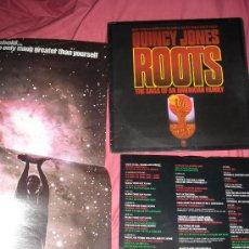 Discos de vinilo: RAICES-ROOTS LP BANDA SONORA ORIGINAL MUSICA QUINCY JONES CON POSTER Y ENCARTE. Lote 20871196