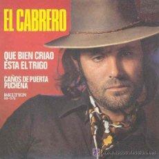 Disques de vinyle: EL CABRERO - 1976. Lote 23958809