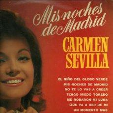 Discos de vinilo: CARMEN SEVILLA LP DEL SELLO BELTER AÑO 1969. Lote 20896412