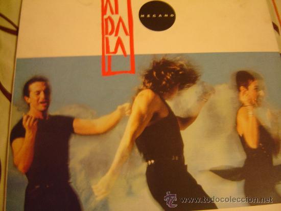 MECANO AIDALAI (Música - Discos - LP Vinilo - Grupos Españoles de los 70 y 80)