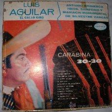 Discos de vinilo: DISCO LP LUIS AGUILAR - ENVIO GRATIS A ESPAÑA. Lote 26928803