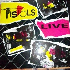 Disques de vinyle: SEX PISTOLS LP LIVE. Lote 26523655