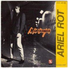 Discos de vinilo: ARIEL ROT – FANTASMAS / PECES - SG PROMO SPAIN 1984 – ZAFIRO OOX 689 A. Lote 20946971