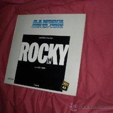 Discos de vinilo: ROCKY LP BANDA SONORA ORIGINAL MUSICA BILL CONTI HISTORIA DE LA MUSICA EN EL CINE 43. Lote 189487287
