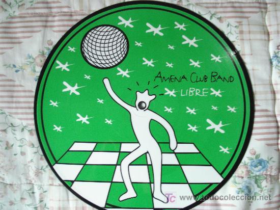 AMENA CLUB BAND / LIBRE - MAXI DISCO DE 12 PULGADAS AÑO 1998 (Música - Discos de Vinilo - Maxi Singles - Grupos Españoles de los 90 a la actualidad)