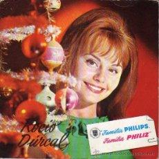 Discos de vinilo: SINGLE VINILO - ROCÍO DURCAL. FAMILIA PHILIPS, FAMILIA PHILIZ. 1965. . Lote 21016070
