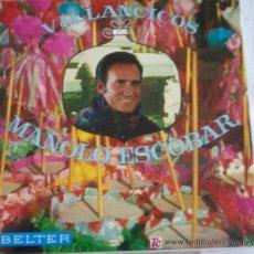 Discos de vinilo: LP MANOLO ESCOBAR - VILLANCICOS - BELTER - (1976). Lote 21016606