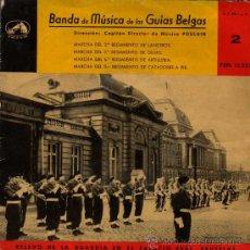 Discos de vinilo: SINGLE VINILO - BANDA DE MÚSICA DE LOS GUÍAS BELGAS - LA VOZ DE SU AMO - 7EPL 13.223. Lote 111351511
