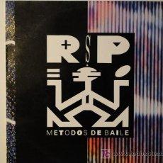 Discos de vinilo: RSP - METODOS DE BAILE - LP 1990. Lote 21019501