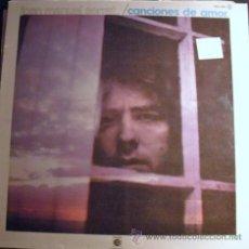 Discos de vinilo: DISCO DE VINILO LP DE JOAN MANUEL SERRAT (CANCIONES DE AMOR) AÑOS 60 . Lote 26394244