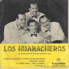 Discos de vinilo: LOS HUARACHEROS.CON TIMPLE,GUITARRA Y RITMO.MICROSURCO DURACION EXTENDIDA.. Lote 27060176