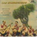 Discos de vinilo: LOS HUARACHEROS.PUERTO DE LA CRUZ.PRIMER FESTIVAL DE LA CANCION CANARIA.TROFEO ONDAS 1960. Lote 26376733