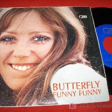 Discos de vinilo: THE AIR MAIL BUTTERFLY/FUNNY FUNNY 7