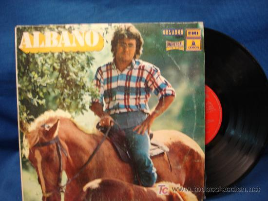 - AL BANO - ANGELES SIN PARAISO+8 - EDICIÓN ESPECIAL PARA EL CÍRCULO DE LECTORES 1972 - RARO (Música - Discos - LP Vinilo - Canción Francesa e Italiana)