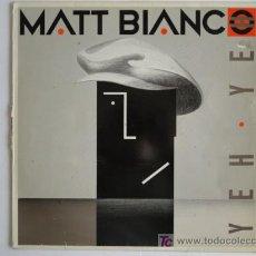 Discos de vinilo: MATT BIANCO - YEH YEH / SMOOTH - MAXI 1985. Lote 27090137
