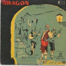 Discos de vinilo: JOSE OTO,JOTAS ARAGONESAS DEL 59. Lote 21066200