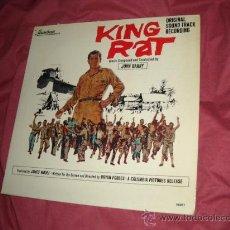 Discos de vinilo: KING RAT LP BANDA SONORA ORIGINAL MUSICA JOHN BARRY LP USA AMISTREAM. Lote 21072583