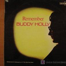 Discos de vinilo: BUDDY HOLLY - REMEMBER - VINILO LP . Lote 21614400