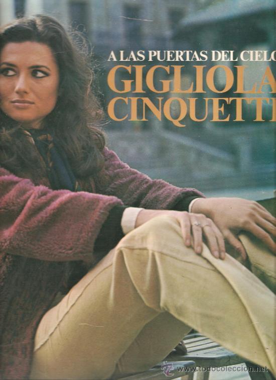 LP GIGLIOLA CINQUETTI - A LAS PUERTAS DEL CIELO (Música - Discos - LP Vinilo - Canción Francesa e Italiana)
