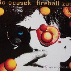 Discos de vinil: RIC OCASEK,FIREBALL ZONE EDICION ALEMANA DEL 91. Lote 239897325