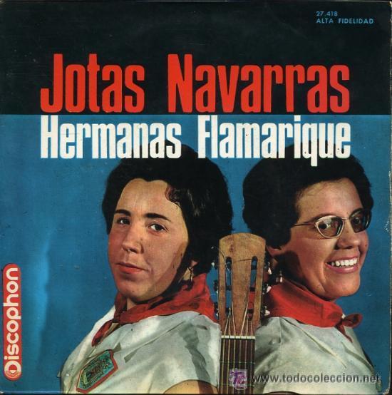 HERMANAS FLAMARIQUE - JOTAS NAVARRAS - EP, 1965 (Música - Discos de Vinilo - EPs - Otros estilos)