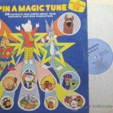Discos de vinilo: GRANDES EXITOS DE PELICULAS DIBUJOS ANIMADOS. 1973 INGLATERRA.. ENVIO GRATIS¡¡¡. Lote 21135977
