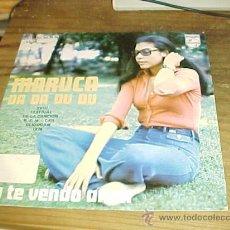 Discos de vinilo: MARUCA. DA DA, DU DU. PHILIPS 1976. DISCO PROMOCIONAL. . Lote 152180388