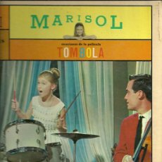 Discos de vinilo: MARISOL BANDA SONORA DEL FILM TOMBOLA LP PORTADA DOBLE SELLO MONTILLA EDITADO EN USA.. Lote 21137514