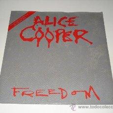 Discos de vinilo: ALICE COOPER / FREEDOM - SCHOOL'S OUT (LIVE) KANE ROBERTS - EP 3 TEMAS EDICIÓN LIMITADA!!!. Lote 26754455