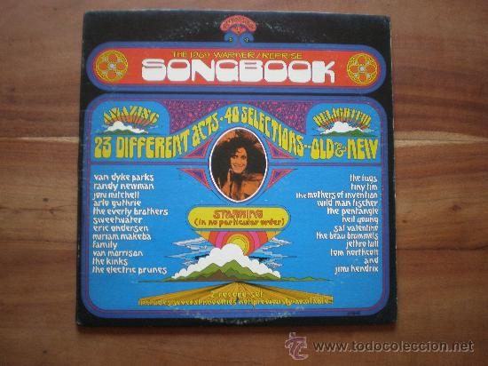 SONGBOOK (USA-WARNER-1969) KINKS, HENDRIX, FUGS, JETHRO TULL, NEIL YOUNG,..- ROCK, PSYCH, FOLK 2LP'S (Música - Discos - LP Vinilo - Pop - Rock Extranjero de los 50 y 60)